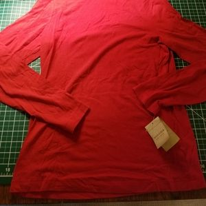 Sonoma Tops - Sonoma Turtleneck Long Sleeve Red Laquer Small